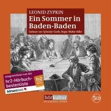Leonid Zypkin: Ein Sommer in Baden-Baden, CD