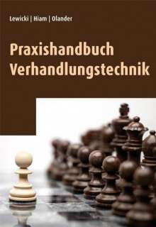 Roy Lewicki: Praxishandbuch Verhandlungstechnik, Buch