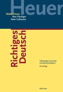 Walter Heuer: Richtiges Deutsch, Buch