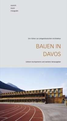 Jürg Grassl: Bauen in Davos, Buch