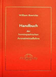 William Boericke: Handbuch der homöopathischen Arzneimittellehre, Buch