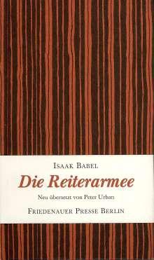 Isaak Babel: Die Reiterarmee, Buch