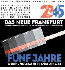 Ernst May: DAS NEUE FRANKFURT, Buch