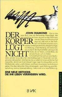 John Diamond: Der Körper lügt nicht, Buch