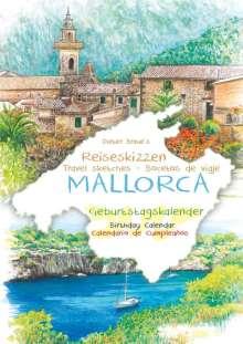 Dieter Braue: Geburtstagskalender Mallorca, Kalender