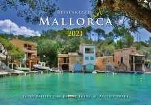 Dieter Braue: Reiseskizzen Mallorca 2021 ART, Kalender