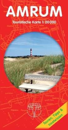 Rolf Drewes: Amrum - Touristische Karte 1 : 20 000, Diverse