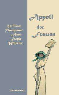 William Thompson: Appell der Frauen, Buch