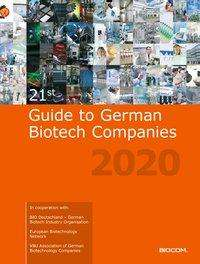 21th Guide to German Biotech Companies 2020, Buch