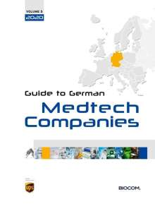 5th Guide to German Medtech Companies 2020, Buch