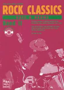 ROCK CLASSICS ' Bass und Drums' 2. Inkl. CD, Noten