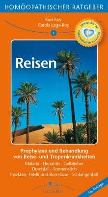 Carola Lage-Roy: Homöopathische Ratgeber: Reisen, Buch