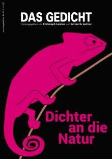 Ulrike Drasner: Das Gedicht. Zeitschrift /Jahrbuch für Lyrik, Essay und Kritik / Dichter an die Natur, Buch