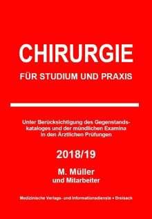 Markus Müller: Chirurgie, Buch