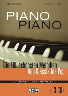 Piano Piano. Notenbuch, Noten