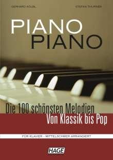 Piano, Piano, Noten
