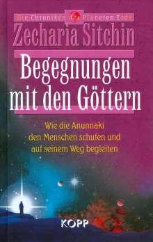 Zecharia Sitchin: Begegnungen mit den Göttern, Buch