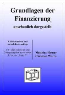 Übelhör, Matthias; W:Grundlagen der Finanzierung, Buch