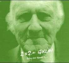 Heinz von Foerster: Zwei x 2 gleich grün. CD, CD