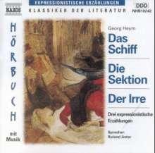 Heym,Georg:3 Expressionistische Erzählungen, CD