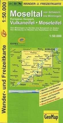 Moseltal - Vulkaneifel - Moseleifel 1 : 50 000, Diverse