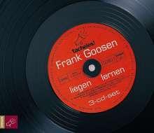 Frank Goosen: Liegen lernen. 3 CDs, 3 CDs