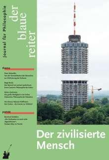 Peter Sloterdijk: Der Blaue Reiter. Journal für Philosophie / Der zivilisierte Mensch, Buch