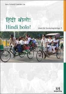 Ines Fornell: Hindi bolo! Teil 1. Lehrbuch mit CD, Buch
