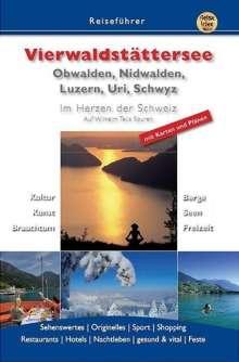 Marika Waltenberg: Vierwaldstättersee Obwalden, Nidwalden Luzern,  Uri ,Schwyz, Buch