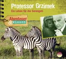 Theresia Singer: Abenteuer & Wissen. Professor Grzimek, CD