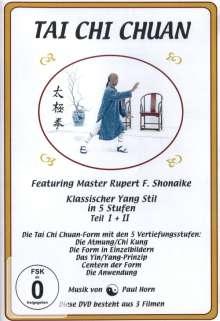 Tai Chi Chuan - Klassischer Yang Stil in 5 Stufen / Teil I + II, DVD