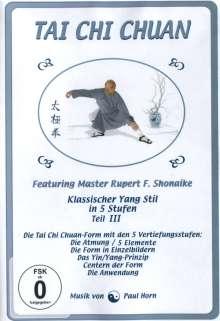 Tai Chi Chuan - Klassischer Yang Stil in 5 Stufen / Teil III, DVD