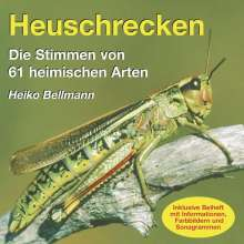 Heuschrecken. CD/Stimmen von 61heim.Arten, CD