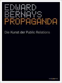 Edward Bernays: Propaganda, Buch