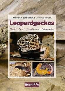 Karsten Grießhammer: Leopardgeckos, Buch