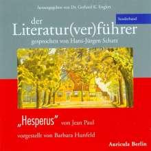 """Jean Paul: Der Literatur(ver)führer - Sonderband """"Hesperus"""" von Jean Paul, 2 CDs"""