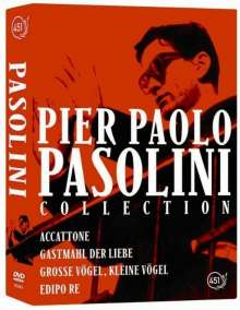 Pier Paolo Pasolini Collection, 5 DVDs