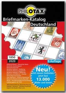 PHILOTAX GmbH: Deutschland Briefmarkenkatalog 1849 - 2020 9. Auflage, DVD-ROM