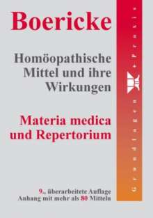 William Boericke: Homöopathische Mittel und ihre Wirkungen, Buch