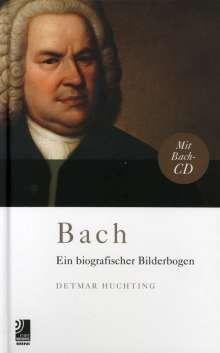 Johann Sebastian Bach (1685-1750): Bach - Ein biografischer Bilderbogen (CD + Buch), CD