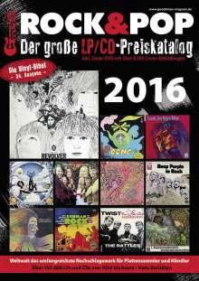 Martin Reichold: Der große Rock & Pop LP / CD Preiskatalog 2016, Buch
