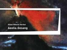 Alban Nikolai Herbst: Aeolia.Gesang, Buch
