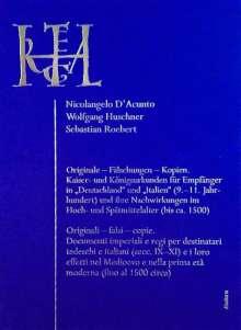 Originale - Fälschungen - Kopien / Originali - falsi - copie., Buch
