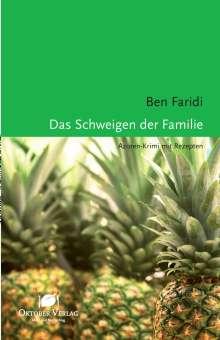 Ben Faridi: Das Schweigen der Familie, Buch