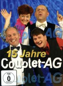 15 Jahre Couplet-AG, DVD