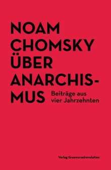 Noam Chomsky: Über Anarchismus, Buch