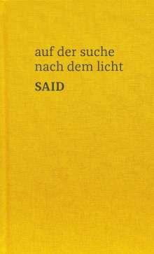 Said: auf der suche nach dem licht, Buch