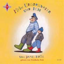 James Krüss: Mein Urgroßvater und ich, 4 CDs