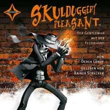 Derek Landy: Skulduggery Pleasant 01. Der Gentleman mit der Feuerhand, 6 CDs