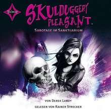 Derek Landy: Skulduggery Pleasant 04. Sabotage im Sanktuarium, 6 CDs